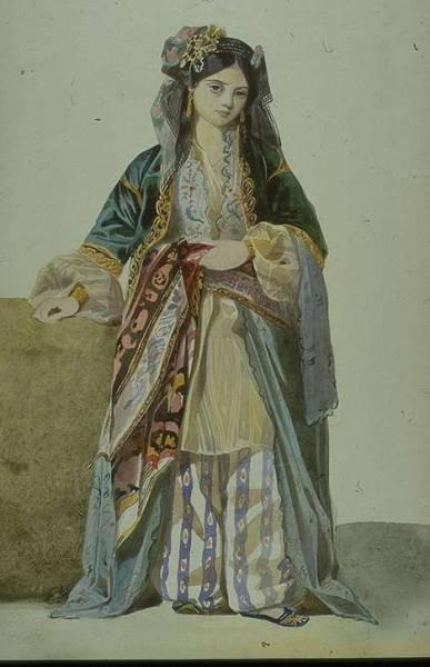 Turkish Woman Annetta Smyrna